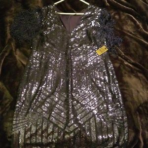 Dresses & Skirts - Forever 21 plus 3x fully sequined holiday dress